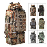 90-100L Military Tactical Backpack Waterproof Molle Climbing Bag Outdoor Trekking Camping