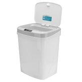 Poubelle à capteur sans contact automatique 15L 3 modes ouverts poubelle poubelle pour cuisine à domicile