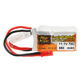 ZOP Power 11.1V 850mah 70C 3S Lipo Батарея JST штекер