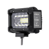 3.5 Pollici 72W LED Barra luminosa da lavoro Side Shooter Flood Spot Combo Beam per fuoristrada fuoristrada ATV SUV