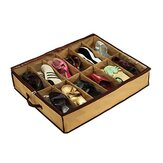12 Pairs Shoes Storage Box Under Bed Closet Storage Baskets