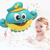 Music Bubble Machine Maker Bath Octopus Toys pour bébé bébé enfants Happy Tub Time Shower Games