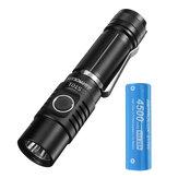 Astrolux® ST01 SST40/XHP50.2 3500lm Compace EDC svítilna Základní UI USB dobíjecí ultra-jasná mini LED svítilna s Astrolux® E2145 28A 21700 High Drain Li-ion baterie