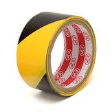 Advertencia de peligro de adhesivo autoadhesivo negro y amarillo de 45 mm Etiqueta de seguridad Etiqueta de advertencia Coche Etiqueta de advertencia