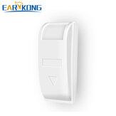 EARYKONG Kablolu Pasif Pencere Perde Kızılötesi Dedektör PIR Hareket Sensör Destek Sıcaklık Telafisi Ev Alarm Için