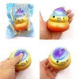 Squishy Factory Poo Kleurrijke Regenboog Soft Slow Rising Met Packaging Collection Gift Decor Toy