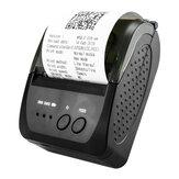 Imprimante thermique portative USB Bluetooth Imprimante de reçus de machine d'impression de reçus sans fil pour tous les systèmes commerciaux de point de vente