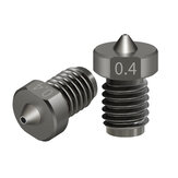 TWOTREES® Hardened Steel TT3D Nozzle 0.2/0.3/0.4/0.5/0.6/0.8/1.0mm Nozzle for 3D Printers