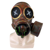 Halloween Party Full Latex Mask Steampunk Retro Gas Mask Cosplay Costumes