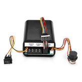 Controlador da velocidade do motor da CC 10-55V 60A PWM LED interruptor CES do CCW CCW Revesible