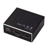 GRWIBEOU HDMIオーディオスプリッターHDMI to HDMI + 3.5 Audio + SPDIF 4K HDMI Audio Video Converter