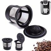 1 шт. Нержавеющая сетка черная многоразовая одна чашка Keurig Solo Filter Pod K-Cup Coffee