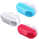 Soft Silikonowy Anti Snore Urządzenie Nosowe Dilatory Przystanek Chrapanie Nos Klip Oczyszczacz Powietrza