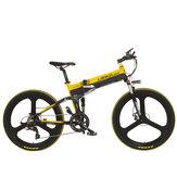 [EU DIRECT] LANKELEISI XT750 26 cali 10,4 Ah 400 W 30 km / h Maksymalna prędkość 100 km Zasięg Przebieg Rower elektryczny 200 kg Maksymalne obciążenie Wtyczka UE