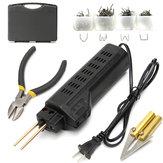Grampeador de pára-choques de plástico kit de soldagem de soldagem tocha para carro auto repair 220 v