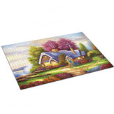 1000 Pieces Landscape Architecture Scene Series Decompression Jigsaw Puzzle Toy Indoor Toys