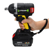 630N.m Brushless Cordless Electric Wrench 2x 19800mAh Li-Ion Battery