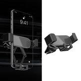 Bakeey 360 Grad drehbare Schwerkraftverbindung Luftentlüftung Autotelefonhalter für 4,7-6,5-Zoll-Mobiltelefon
