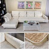 القطن مبطن مطرز الأريكة أريكة وسادة الأريكة باكريست منشفة الأثاث وسادة المقعد
