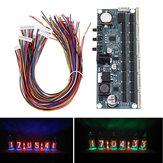 DIY IN14 QS30 IN12 Nixie Tüp PCBA Modülü Anakart Glow Tüp Dijital Saat Için Hiçbir Tüp s