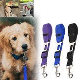 Seggiolino auto regolabile per cani 45-72 cm Cintura Guinzaglio per animali domestici Cane da caccia per cani Sicurezza da viaggio