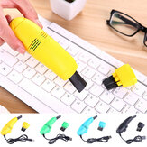Bakeey Mini Handheld USB Keyboard Vacuum Cleaner with Brushes for Macbook Air Computer
