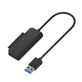 CIMANZ CZL-U32517SC Câble de conversion de disque dur USB 3.0 / USB 3.1 vers SATA pour disque dur SATA 2,5 pouces