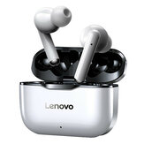 NUOVO Lenovo LP1 TWS Auricolari bluetooth IPX4 Cuffie sportive impermeabili con cancellazione del rumore HIFI Cuffie per bassi con microfono Type-C Ricarica