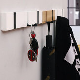 Beboste hanger Verwijderbaar Verstelbaar Kledingrek Wanddeur Hangende Kledinghaken