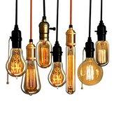 Retro Vintage 40W Edison żarówka E27 110V 220V lampa przemysłowa Żarówka żarnikowa