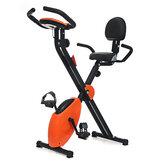 KALOAD Folding Exercise Bike Fitness Cardio Training Sports Cycling Spinning Bike Workout Equipment