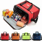 Grand sac isolé Cool Bag Outdoor Camping Picnic Lunch Shoulder Hand Bag