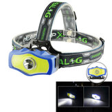 XANES BL-929 T6 + COB 850LM double source lumineuse phare de vélo 3Modes Rechargeable Bike Headlamp