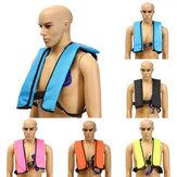 Erwachsene Manuelle aufblasbare Schwimmweste Segeln Bootfahren Sicherheit Schwimmen Weste 5 Farben
