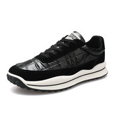 Men Sport Down Cloth Slip Resistant Soft Sole Casual Running Shoes