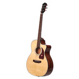 Morgan AT10-DC / AT10-GC A-class Sitika Single Board Acoustic Model 41 inch Folk Guitar Beginner Novice Entry Guitar Male and Female Students Self-learning Musical Instruments