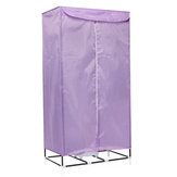 900W Hot Air Portable Electric Cloth Dryer Charging Drying Machine w/ Portable Hanger