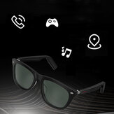 Bakeey E9 Smart Glasses bluetooth Phone Call Music Control Voice Assistant bluetooth Glasses UV Protector Sunglasses