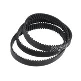 GT2 6mm Closed Loop Timing Belt 2GT-6 280/400 / 610 / 852mm Rubber Synchronous Belt