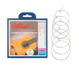 Alices AC130-N Classical Guitar Strings Set 0.028-0.043 Coated Copper Alloy Wound Plated Steel 4 Strings