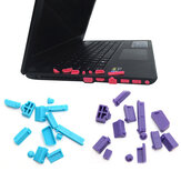 13 PZ Un Set Universale Laptop Spina di Polvere Laptop Notebook PC Silicone Computer USB VGA SD HDMI Porte Copertura antipolvere in gomma