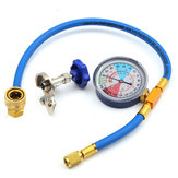 250psi recarga mangueira de medição tubo de refrigerante válvula de calibre R134A r12 r22