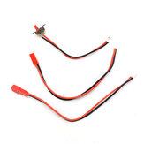 WPL wyłącznik zasilania przewody silnika złącza JST do V3 nagłośnienia DIY 1/16 RC części modeli pojazdów samochodowych