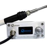 Quicko T12 STM32 OLED Lehimleme İstasyonu 907 Kolu ile CNC Paneli T-12K Lehimlemek Demir İpucu