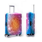 Protecteuranti-poussièredecouverturedevalise de chariot à couverture élastique de bagage de voyage extérieur