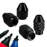 0,3-3,2mm M7/M8x0,75mm Mandrino Senza Chiave Mandrino Universale per Smerigliatrice Elettrica