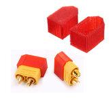 2Pcs AMASS XT60 XT90-S Защитная крышка для защиты от искр TPU 3D-печать для кабеля модели RC
