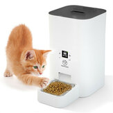 4L Smart Automatic Pet Feeder Intelligent Timing Food Feeding Machine Color Screen Dog Cat Food Feeder