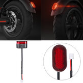 BIKIGHT Scooter Brake Light with Line For Xiaomi M365 Electric Scooter Stoplight Brake Lamp