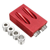 7 / 8Pcs Pocket Hole Jig Pocket Hole Screw Jig Dübelbohrschreinerei Satz Woodworking Guides Tool